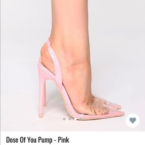 Dose of you pump- shoes